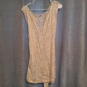 NWOT Free People Boho Cover Up Dress